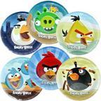 Тарелка Angry Birds 23см 6шт/уп