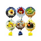 Язычок-гудок с картинкой Angry Birds 6шт/уп