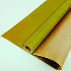 Крафт - Бумага верджтрованная однотонная Светло - Зеленая / рулон