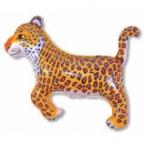 Леопард синий