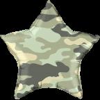 """Р18"""" Камуфляж зеленый звезда"""