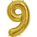 """Цифра """"9"""" Золото / Nine"""