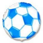 Круг / Футбольный мяч синий