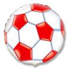Круг / Футбольный мяч красный