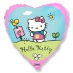 Сердце / Хелло Китти в саду