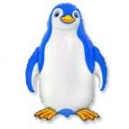 Счастливый пингвин синий
