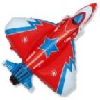 Супер истребитель красный