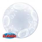 "П BUBBLE DECO 24"" Шары и Звезды"