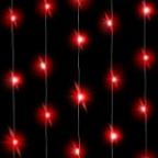 Светодиодная нить Красного свечения, 3м, 30 Led