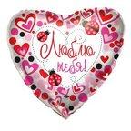 K Сердце РУС-23 Любовь Божьи коровки